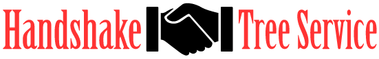 Handshake Tree Service 6028 Quay CT. Arvada, CO. 80003 Retina Logo